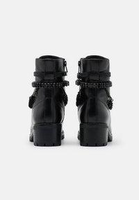 Dune London - PRIMROSE - Kovbojské/motorkářské boty - black - 3
