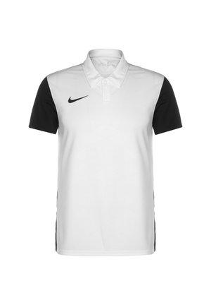 TROPHY IV - Sports shirt - white / black / black