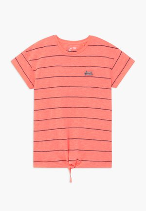 TEENAGER - Print T-shirt - neon peach