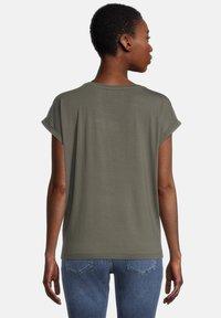 Cartoon - Print T-shirt - khaki/grey - 2