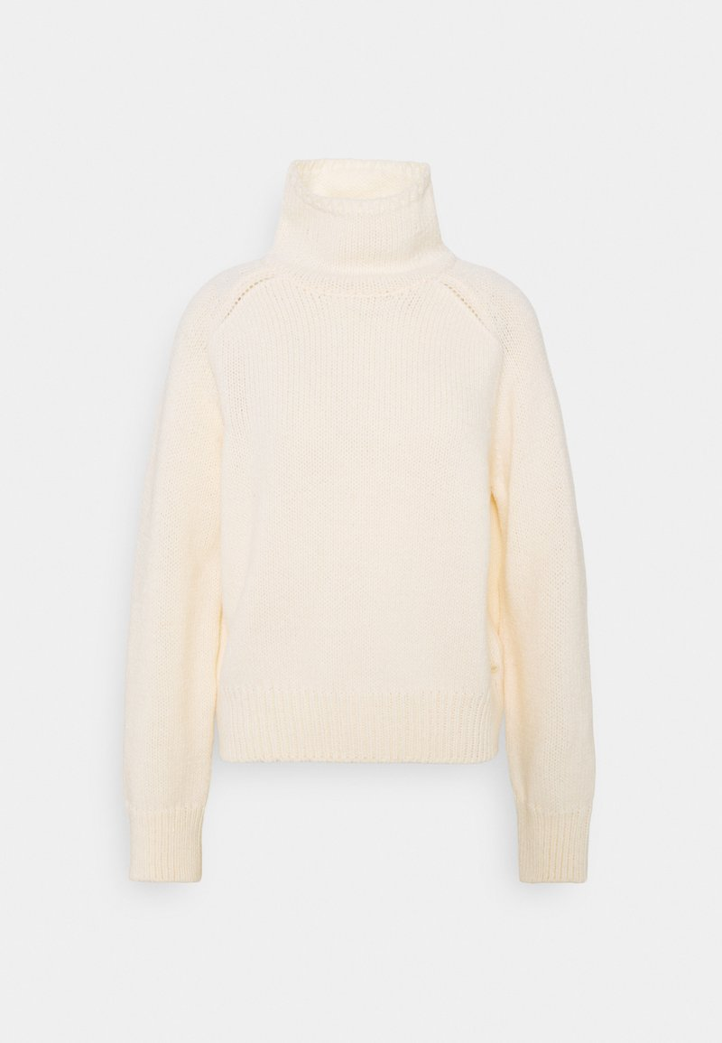 Marc O'Polo - LONGSLEEVE STAND UP - Jumper - sea shell