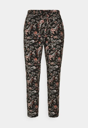VMSIMPLY EASY LOOSE PANT - Bukse - black/adda