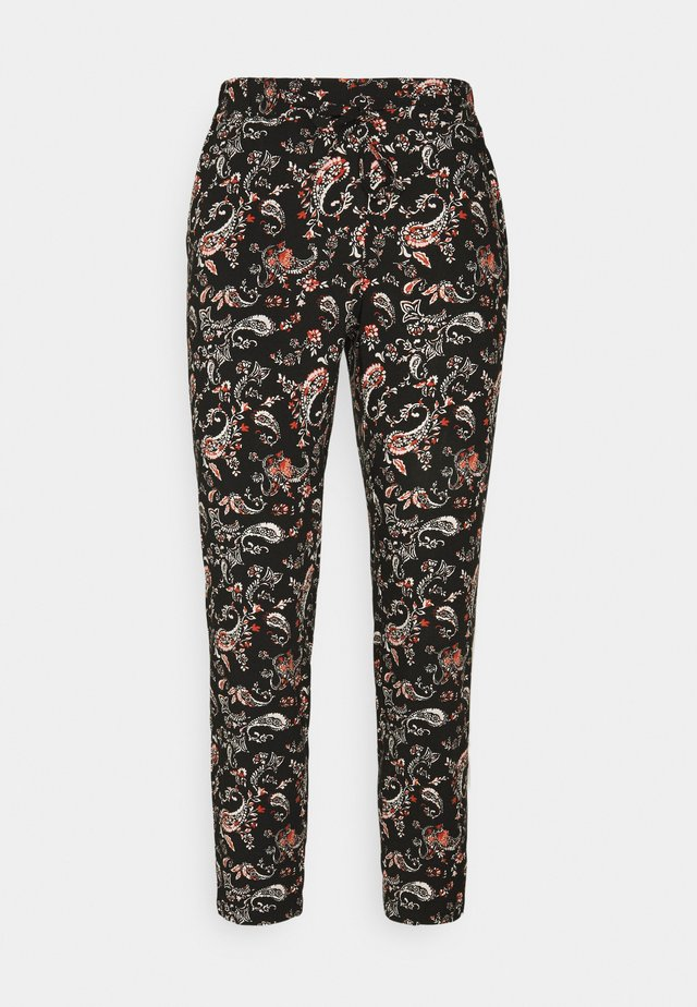 VMSIMPLY EASY LOOSE PANT - Trousers - black/adda