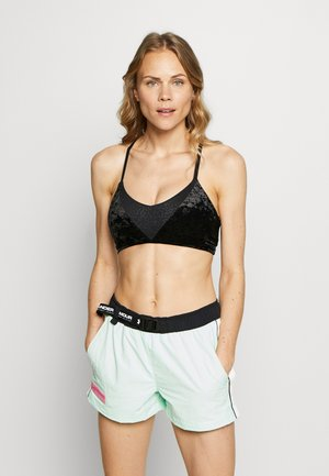 CRUSHED BRA - Sports bra - black