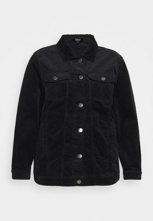 OVER SIZED WESTERN JACKET - Summer jacket - black