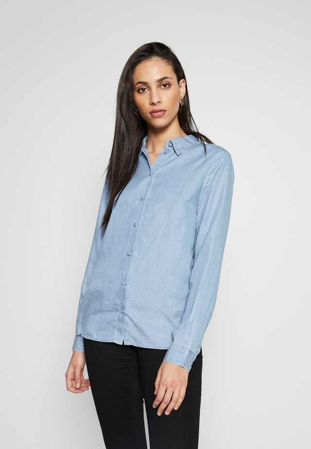 SLFMATTIE - Button-down blouse - light blue