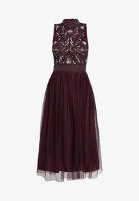 Lace & Beads Tall - KUSHI - Juhlamekko - burgundy - 5