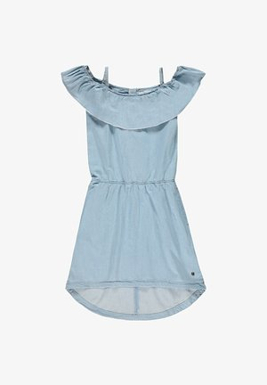 Denim dress - blue light washed