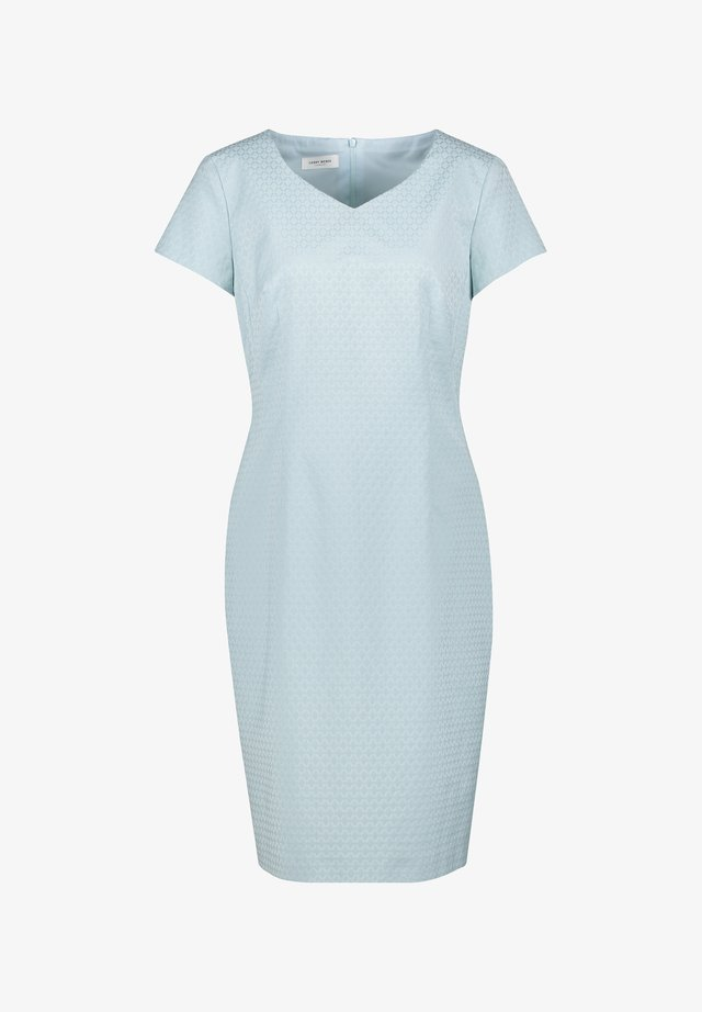 Shift dress - aqua