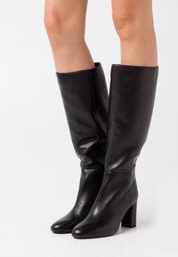 Unisa - USTED - High heeled boots - black - 0