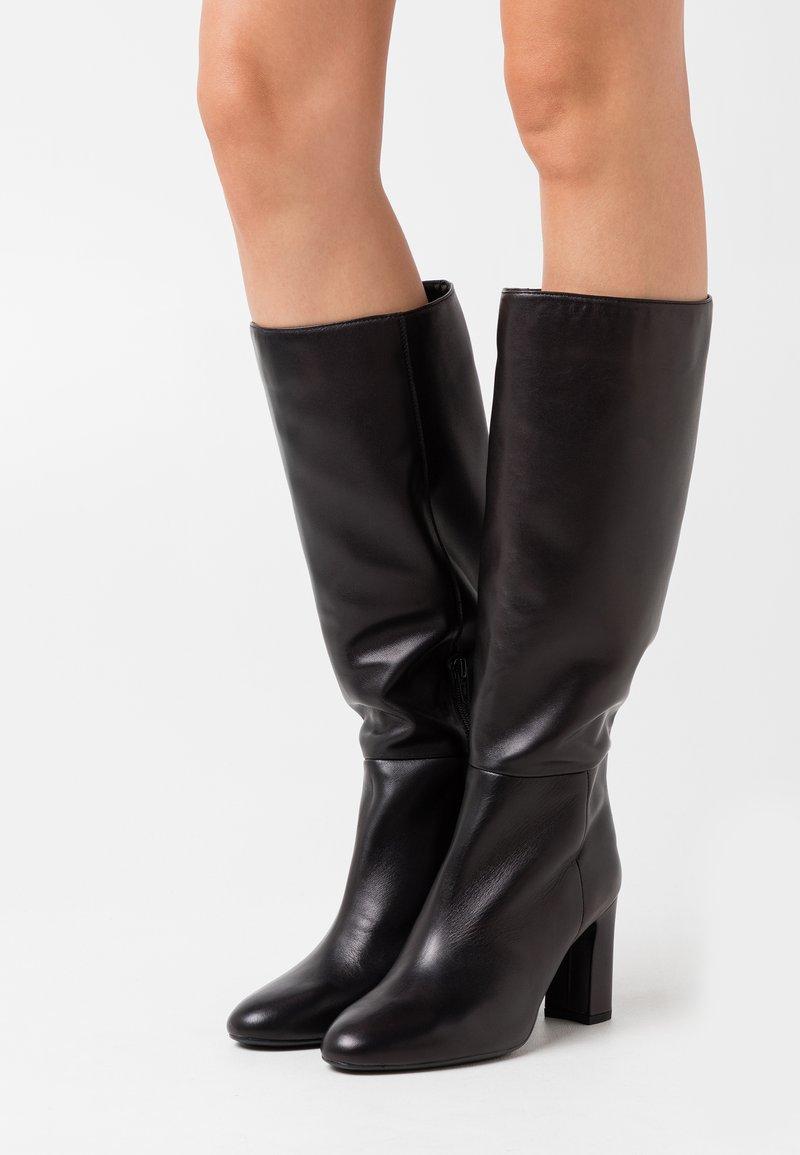 Unisa - USTED - High heeled boots - black
