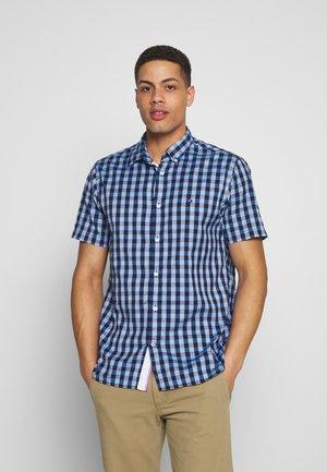 CO/LI LOOK GINGHAM SHIRT S/S - Camisa - blue