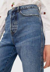 Stradivarius - Straight leg jeans - dark blue - 3