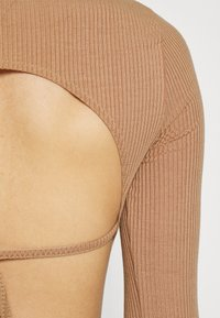 Missguided - SKATER DRESS - Day dress - camel - 4