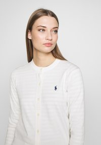 Polo Ralph Lauren - CARDIGAN LONG SLEEVE - Chaqueta de punto - collection cream - 3