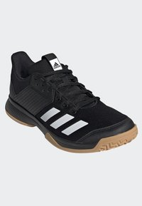 adidas Performance - LIGRA 6 SHOES - Chaussures de volley - black/white - 3