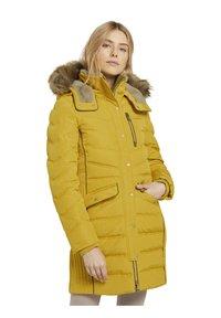 TOM TAILOR - SIGNATURE PUFFER COAT - Winter coat - california sand yellow - 5