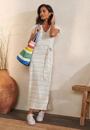 ELLA - Maxi dress - regenbogenfarben, sommerliche bretonstreifen