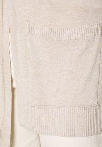 Esprit - UTILITY FINE - Cardigan - light beige - 5