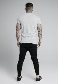 SIKSILK - SHORT SLEEVE GYM - T-shirt basic - grey marl - 2