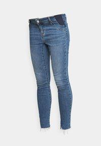 GAP Maternity - ALFRED - Jeans slim fit - medium indigo - 3