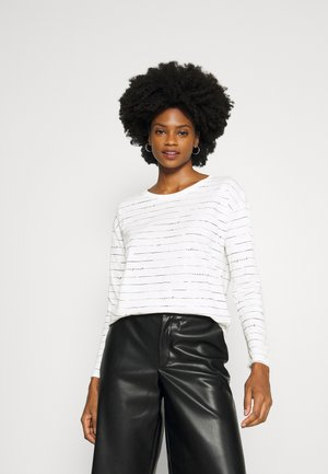 BOATY NECK  - Långärmad tröja - off white