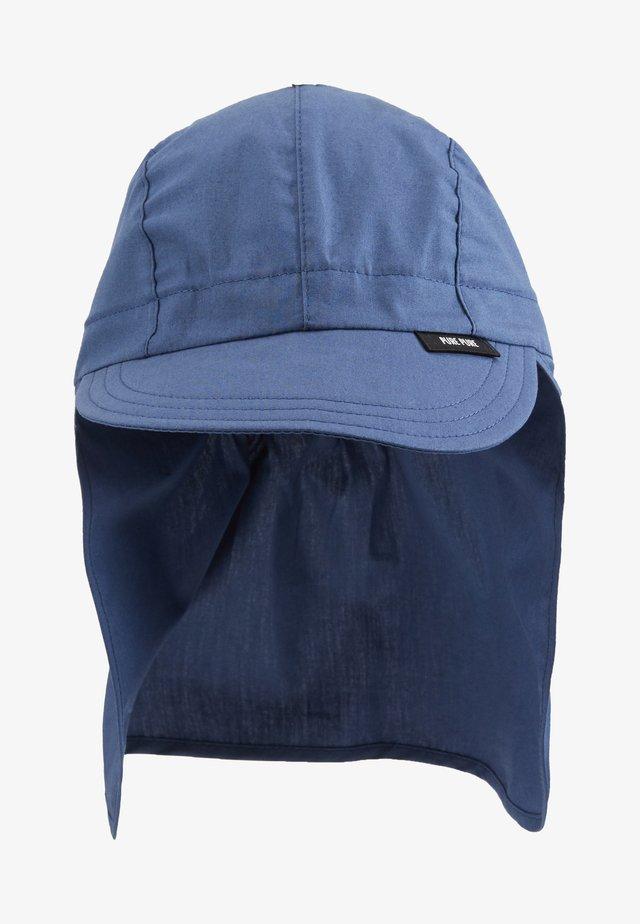 KIDS MIT NACKENSCHUTZ UNISEX - Hattu - dark blue