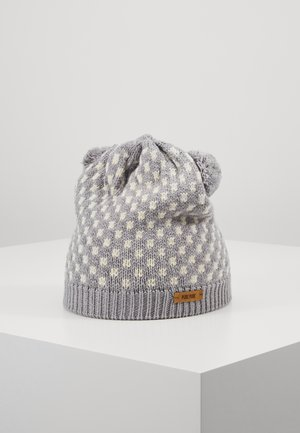 Čepice - kiesel grau