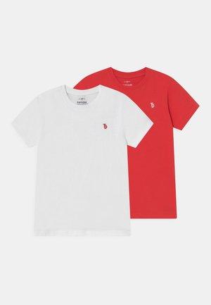 TOMIE 2 PACK - Basic T-shirt - white