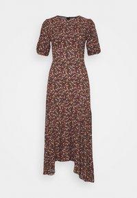 Trendyol - SIYAH - Maxi šaty - black - 0
