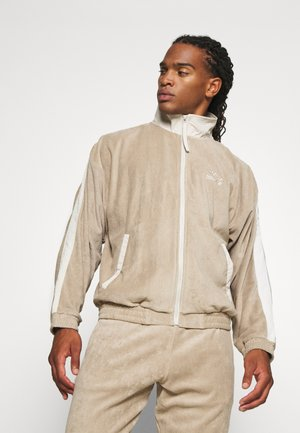 TRACK JACKET UNISEX - veste en sweat zippée - beige/off white