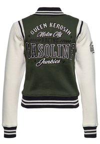 Queen Kerosin - GASOLINE JUNKIES - Light jacket - olivgrün - 2