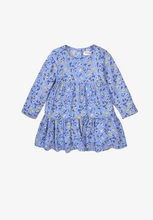 FLOWERS   - Day dress - light blue aop