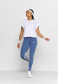 MSGM - Basic T-shirt - white - 1