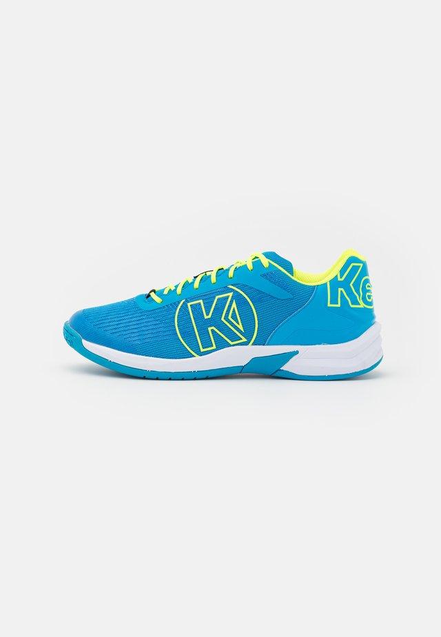 ATTACK THREE 2.0 - Handballschuh - blue/fluo yellow