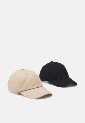 ONSTRISTIAN CAP 2 PACK - Kšiltovka - black/beige