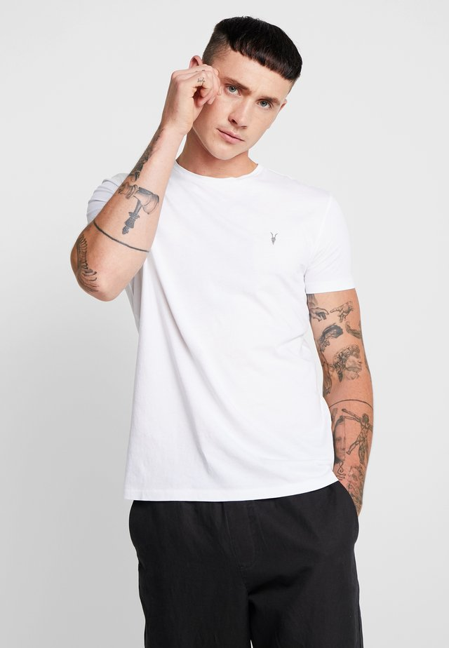 TONIC CREW - Basic T-shirt - optic white