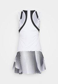 Lotto - TOP TEN DRESS - Sports dress - bright white/black - 3