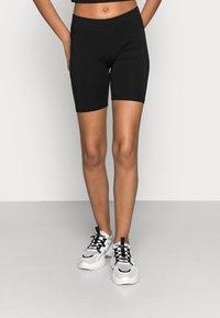 Vero Moda - VMMAXI BIKER SHORTS 2 PACK - Shorts - black - 2