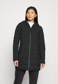 Abercrombie & Fitch - PUFFER - Classic coat - black - 0