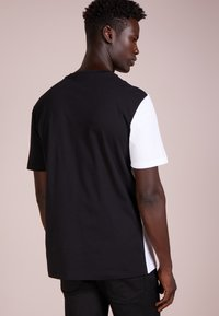 Versace Collection - T-shirt med print - nero/bianco - 2