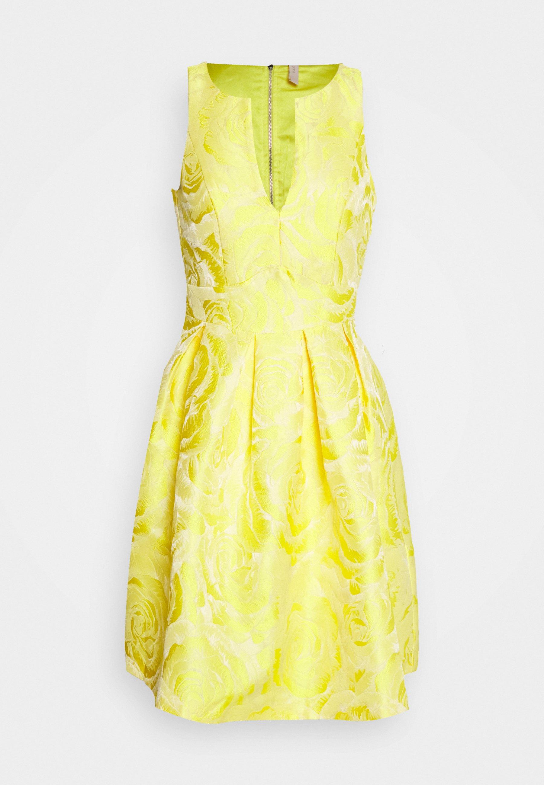yasminnie dress show - cocktailkleid/festliches kleid - vibrant yellow