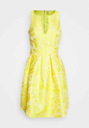 YASMINNIE DRESS SHOW - Juhlamekko - vibrant yellow