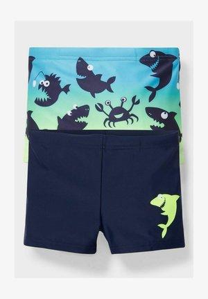 2 PACK - Swimming shorts - dark blue