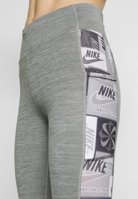 Nike Performance - FAST - Tights - iron grey/black/reflective silver - 4