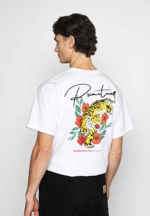ISLAND TEE - Print T-shirt - white