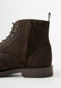 Mango - PICADOS - Lace-up ankle boots - braun - 5