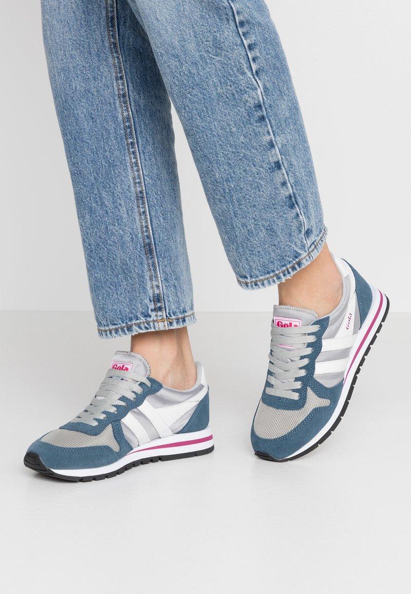 Gola - DAYTONA - Sneakersy niskie - light grey/baltic/white