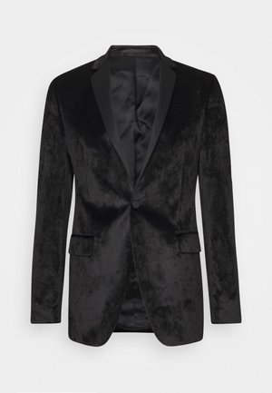 JACKET SIGNATURE - Blazer jacket - black