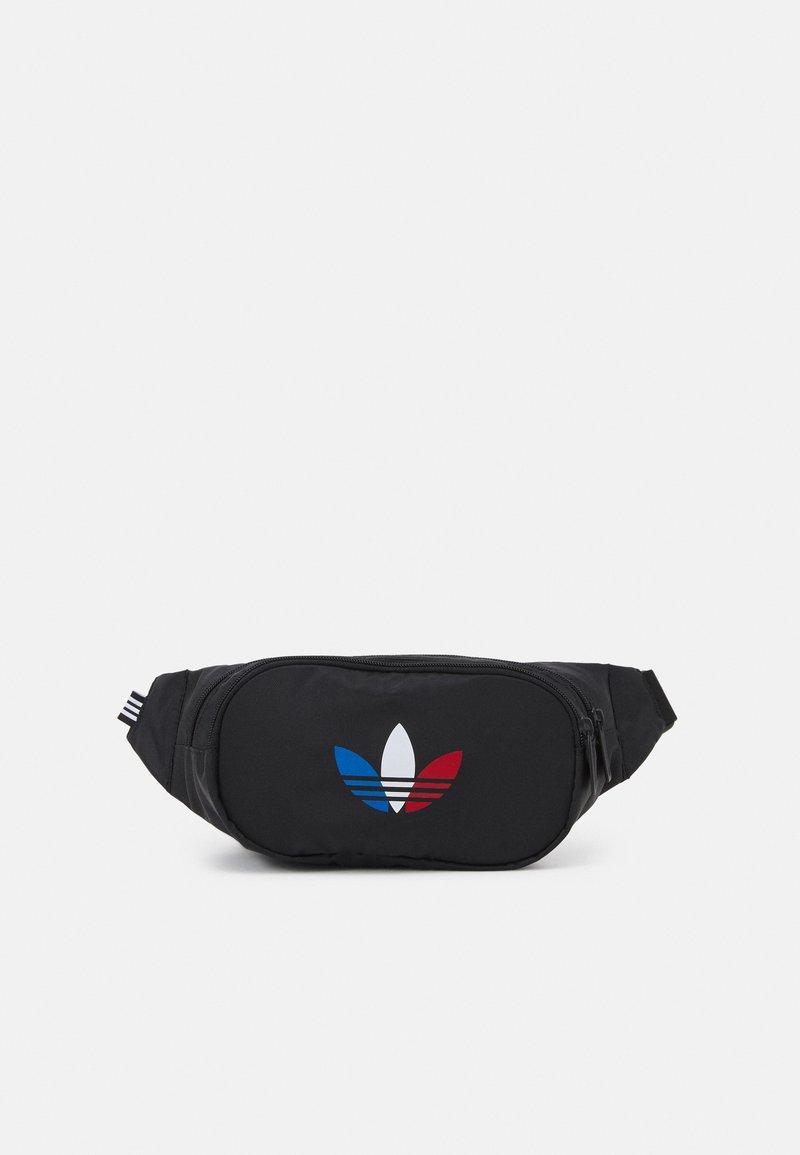 adidas Originals - TRICOLOR WAISTBAG UNISEX - Bæltetasker - black